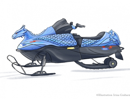 Concept art | snowmobile