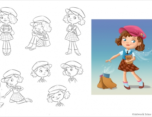 Character design for CG animation